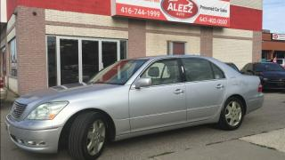 Used 2006 Lexus LS 430 4dr Sdn.GPS .Camera for sale in North York, ON