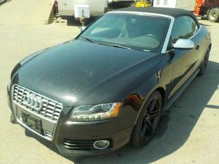 Used 2010 Audi S5 3.0T quattro S tronic Convertible for sale in Burnaby, BC