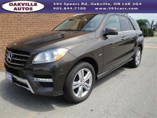 Used 2012 Mercedes-Benz ML-Class ML 350 BlueTEC for sale in Oakville, ON