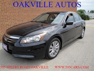 Used 2012 Honda Accord Sedan EX-L for sale in Oakville, ON