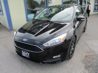 Used 2017 Ford Focus FUEL EFFICIENT SE MODEL 5 PASSENGER 2.0L - DOHC.. HEATED SEATS.. HEATED STEERING WHEEL.. BACK-UP CAMERA.. SYNC TECHNOLOGY.. for sale in Bradford, ON