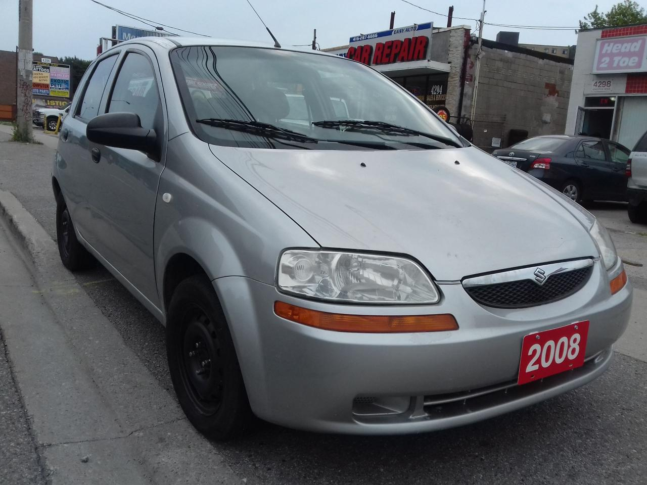 2008 Suzuki Swift $2995 CERTIFIED / GAS SAVER  / 1.6 LT / 161,000 KM