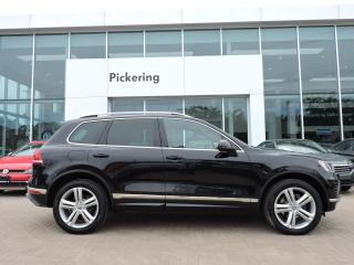 Used 2016 Volkswagen Touareg EXECLINE for sale in Pickering, ON