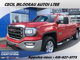 Used 2016 GMC Sierra 1500 SLE for sale in Ste-Anne-de-Beaupré, QC