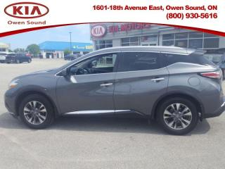 Used 2016 Nissan Murano SL  - Sunroof -  Navigation for sale in Owen Sound, ON