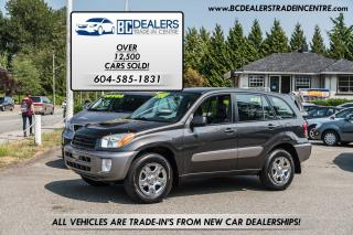 Used 2003 Toyota RAV4 4WD, Auto, Very Clean, Power Group, Affordable! for sale in Surrey, BC