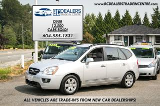 Used 2008 Kia Rondo EX 4-Cylinder, Local, Clean, DVD Player + iPod Aux for sale in Surrey, BC