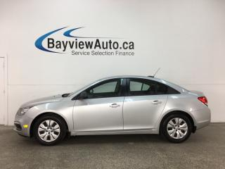 Used 2016 Chevrolet Cruze - KEYLESS ENTRY! ONSTAR! PWR GROUP! for sale in Belleville, ON