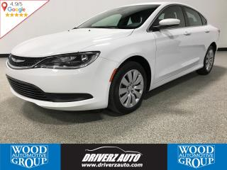 Used 2016 Chrysler 200 LX AUTO HEADLIGHTS, KEYLESS ACCESS, USB for sale in Calgary, AB
