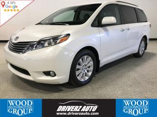 Used 2016 Toyota Sienna XLE 7 Passenger ACCIDENT FREE,XLE AWD, LEATHER,ROOF,NAV,AND LOTS MORE.. for sale in Calgary, AB