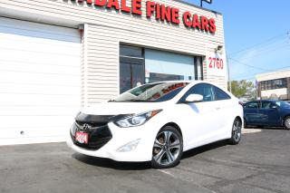Used 2014 Hyundai Elantra GLS Navigation, Camera, Leather, Roof for sale in Toronto, ON