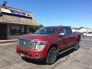 Used 2017 Nissan Titan Platinum Reserve LOADED WITH OPTIONS! NAV! for sale in Brantford, ON