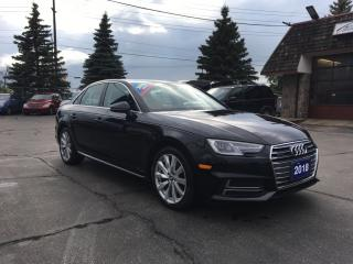 Used 2018 Audi A4 2.0T Komfort AWD Luxury Sedan! for sale in Brantford, ON