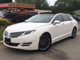 Used 2014 Lincoln MKZ AWD-LOADED-NAVI-ONLY 63KMS-NO ACCIDENTS for sale in Mississauga, ON