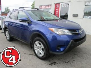 Used 2015 Toyota RAV4 Le/fwd/mags/bluetoot for sale in Saint-jerome, QC