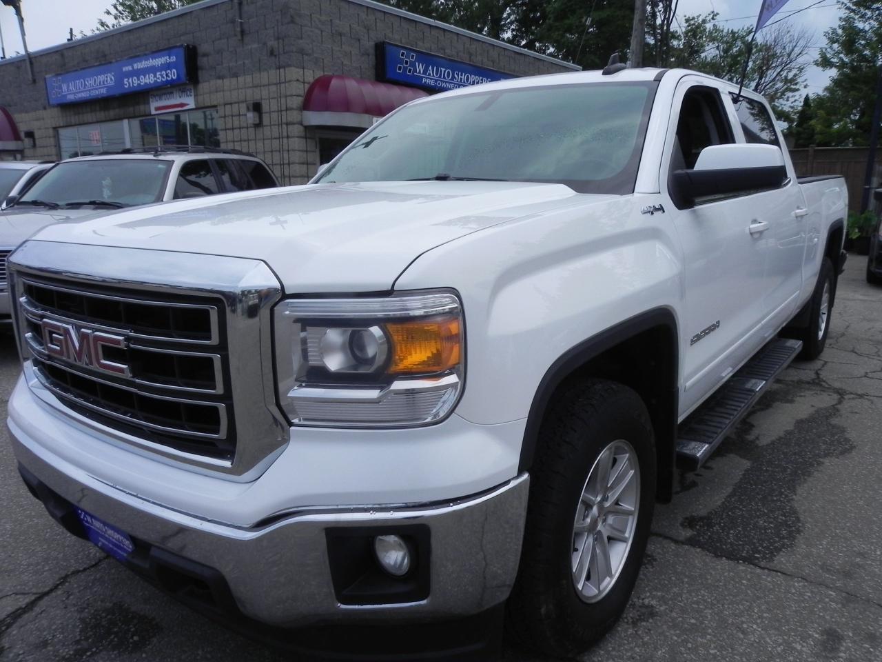 Photo of White 2015 GMC Sierra 1500