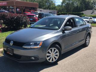 Used 2014 Volkswagen Jetta 2.0 TDI TRENDLINE+DIESEL-NO ACCIDENTS-72KMS for sale in Mississauga, ON