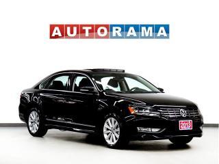 Used 2013 Volkswagen Passat HIGHLINE PKG NAVI BACKUP CAM LEATHER SUNROOF for sale in Toronto, ON