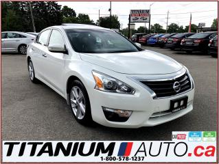 Used 2015 Nissan Altima SL+Camera+GPS+Blind Spot+Leather Seats+Sunroof+XM for sale in London, ON