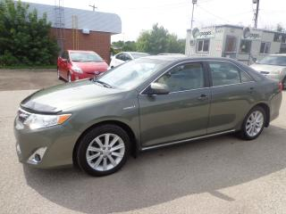 Used 2013 Toyota Camry XLE HYBRID CERTIFIED for sale in Kitchener, ON