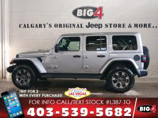 Used 2018 Jeep Wrangler Unlimited Sahara for sale in Calgary, AB