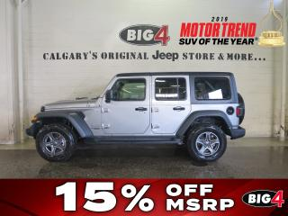 New 2018 Jeep Wrangler UNLIMITED SPORT for sale in Calgary, AB