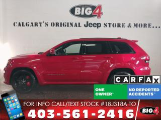 Used 2016 Jeep Grand Cherokee SRT | 6.4L V8 | Nappa Leather | for sale in Calgary, AB