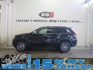New 2018 Jeep Grand Cherokee Limited for sale in Calgary, AB