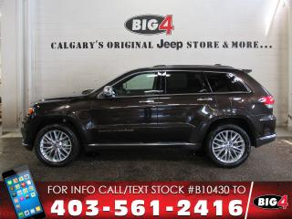 Used 2017 Jeep Grand Cherokee Summit for sale in Calgary, AB
