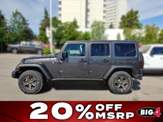 New 2018 Jeep Wrangler JK Unlimited Golden Eagle for sale in Calgary, AB