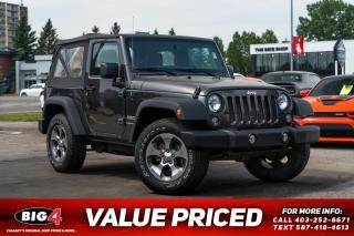 Used 2018 Jeep Wrangler JK Sport for sale in Calgary, AB