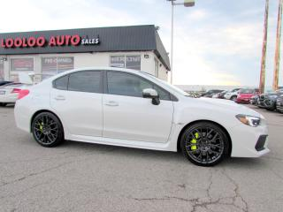 Used 2018 Subaru WRX STI SPORT PKG AWD CAMERA BLUETOOTH CERTIFIED WARRA for sale in Milton, ON