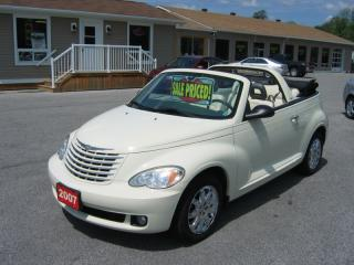 Used 2007 Chrysler PT Cruiser Convertible Touring for sale in Smiths Falls, ON