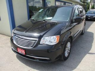 Used 2015 Chrysler Town & Country LOADED TOURING EDITION 7 PASSENGER 3.6L - V6.. CAPTAINS.. STOW-N-GO.. LEATHER.. HEATED SEATS.. BACK-UP CAMERA.. POWER DOORS AND WINDOWS.. BLUETOOTH.. for sale in Bradford, ON