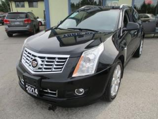 Used 2014 Cadillac SRX LOADED ALL-WHEEL DRIVE 5 PASSENGER 3.6L - V6.. LEATHER.. HEATED SEATS.. NAVIGATION.. PANORAMIC ROOF.. BACK-UP CAMERA.. BLUETOOTH.. for sale in Bradford, ON