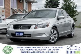 Used 2010 Honda Accord EX-L 2.4L LEATHER SUNROOF CERTIFIED CLEAN SERVICED for sale in Caledon, ON
