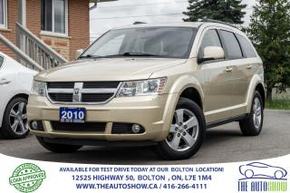 Used 2010 Dodge Journey 7 SEATS V6 1 OWNER DODGE SERVICE RECORDS CERTIFIED for sale in Caledon, ON