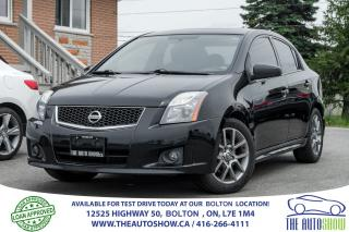 Used 2011 Nissan Sentra SE-R GPS NAVI SPORTS PKG ACCIDENT FREE CERTIFIED for sale in Caledon, ON