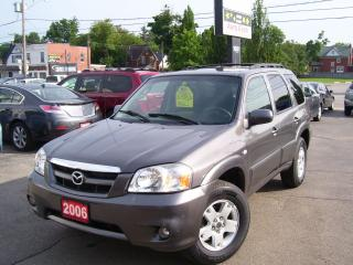 Used 2006 Mazda Tribute GX,ALLOYS,TINTED,NEW TIRES,CERTIFIED for sale in Kitchener, ON