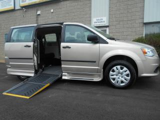 Used 2015 Dodge Grand Caravan CVP- Wheelchair Accessible Side Entry Conversion for sale in London, ON