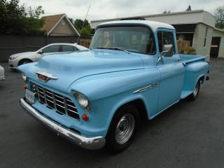 Used 1955 Chevrolet Pickup (Other) 3200 Series Half-Ton Step-Side Long-Box for sale in Sutton West, ON