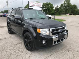 Used 2012 Ford Escape Limited for sale in Komoka, ON