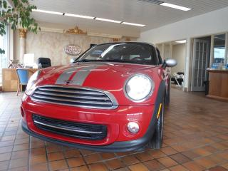 Used 2012 MINI Cooper Coupe Auto 2 set of rims Bluetooth leather safety for sale in Oakville, ON