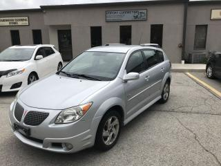 Used 2006 Pontiac Vibe WAGON FWD,CERTIFIED,NO ACCIDENTS for sale in Burlington, ON
