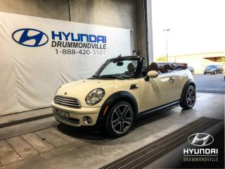 Used 2009 MINI Cooper CONVERTIBLE BAS KM + MAGS + CUIR + WOW ! for sale in Drummondville, QC