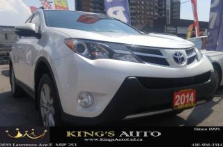 Used 2014 Toyota RAV4 LIMITED  for sale in Scarborough, ON