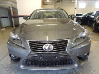 Used 2014 Lexus IS 250 BACK UP CAMERA, ALLOYS, LEATHER, BLUETOOTH for sale in Mississauga, ON