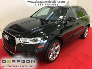 Used 2018 Audi Q3 Progressiv + Toit for sale in Cowansville, QC