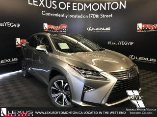 Used 2018 Lexus RX 450h DEMO UNIT - EXECUTIVE PACKAGE for sale in Edmonton, AB