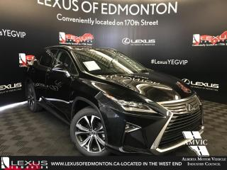 Used 2018 Lexus RX 350 DEMO UNIT - EXECUTIVE PACKAGE for sale in Edmonton, AB